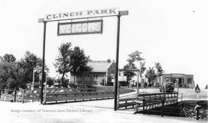 Clinch Park entrance, 1940