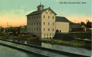Flour Mill, Union Street dam, early twentieth century