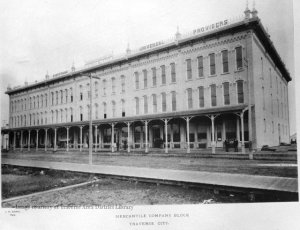 Hannah Lay department store, late 19th century