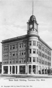 Traverse City State Bank building, about 1904