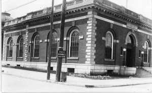 Old post office, about 1920